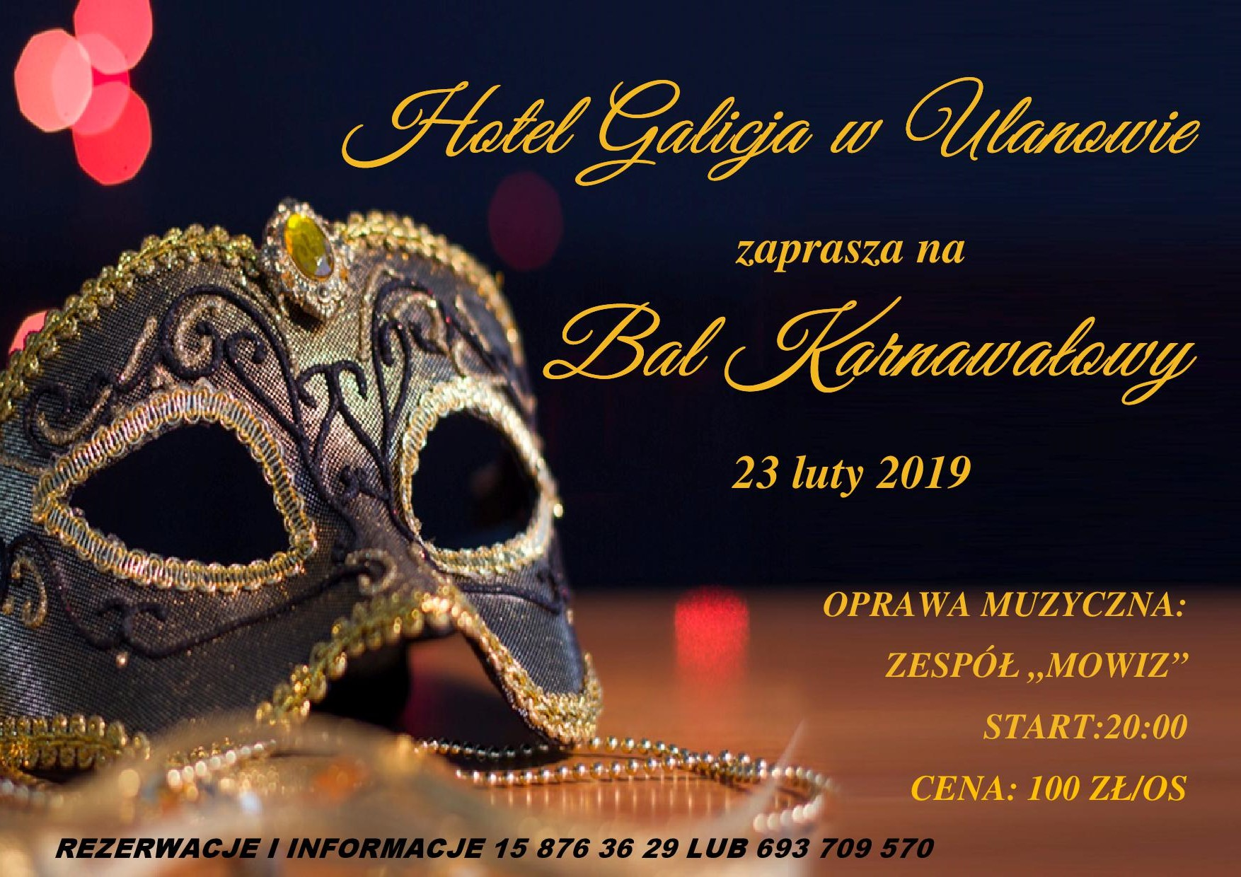 Bal Karnawałowy 2019